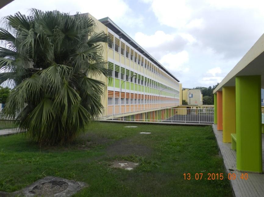 Une photo du lycée Chevalier de Saint-Georges